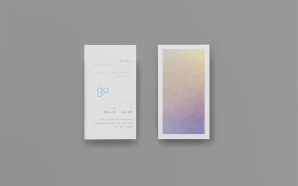 Striking holographic business card changes from one shimmering shade striking holographic business card changes from one shimmering shade to another designtaxi colourmoves