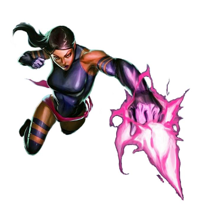Marvel Psylocke Art Psylocke from Marvel P...