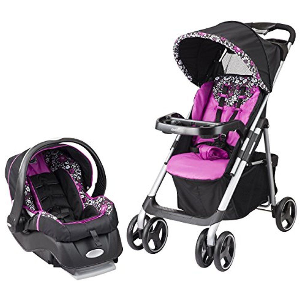Evenflo Vive Baby Strollers Travel System with Embrace