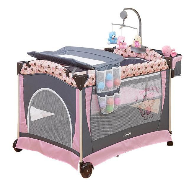 9a4265cfa01 Baby Bed Multi functional Portable Crib For Kids Light-weight Folding