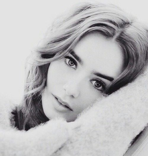 lily collins gif