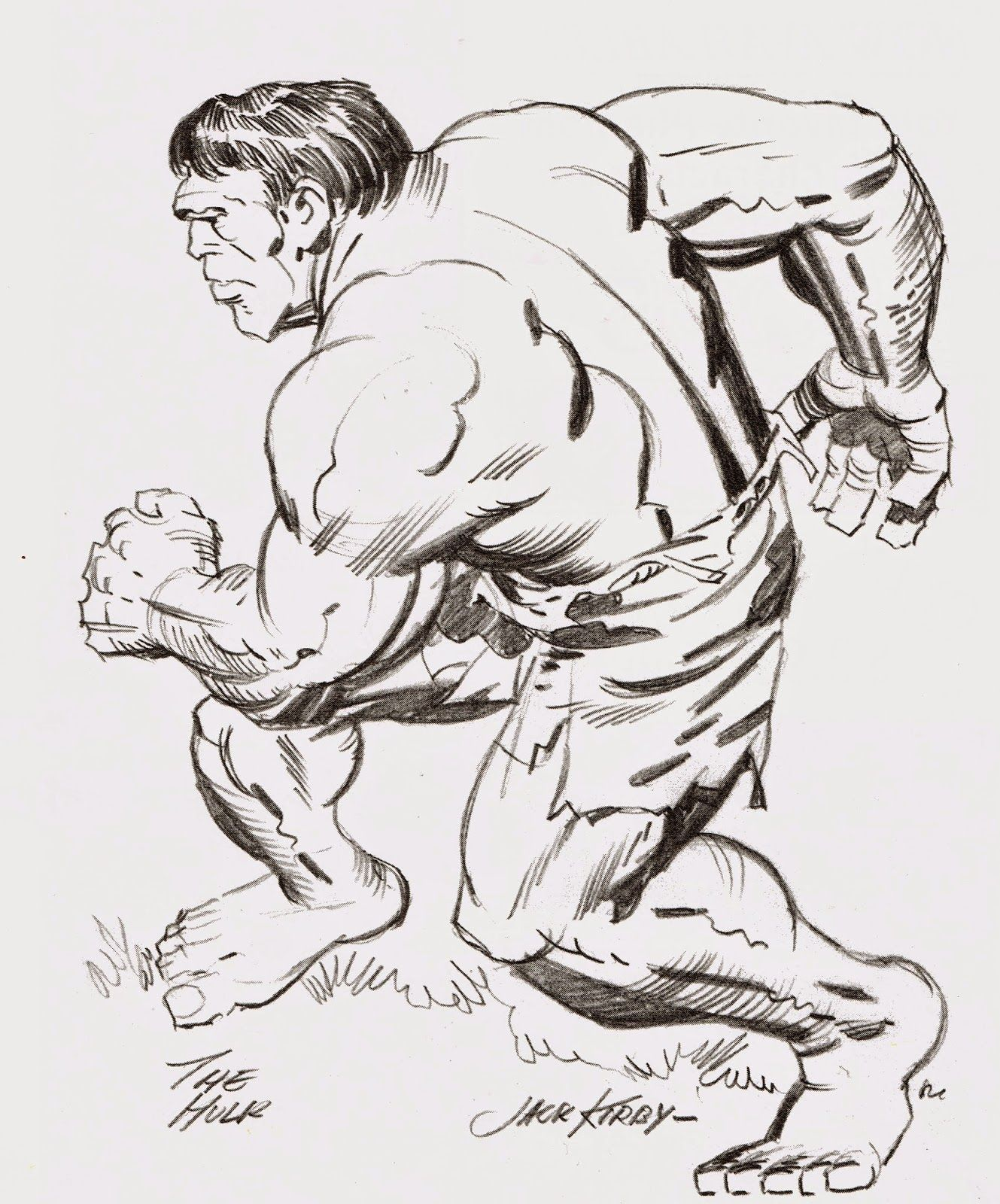 Cap'n's Comics: The Hulk by Jack Kirby Cap'n's Comics: The Hulk by Jack Kirby
