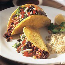 Confetti Beef Tacos.