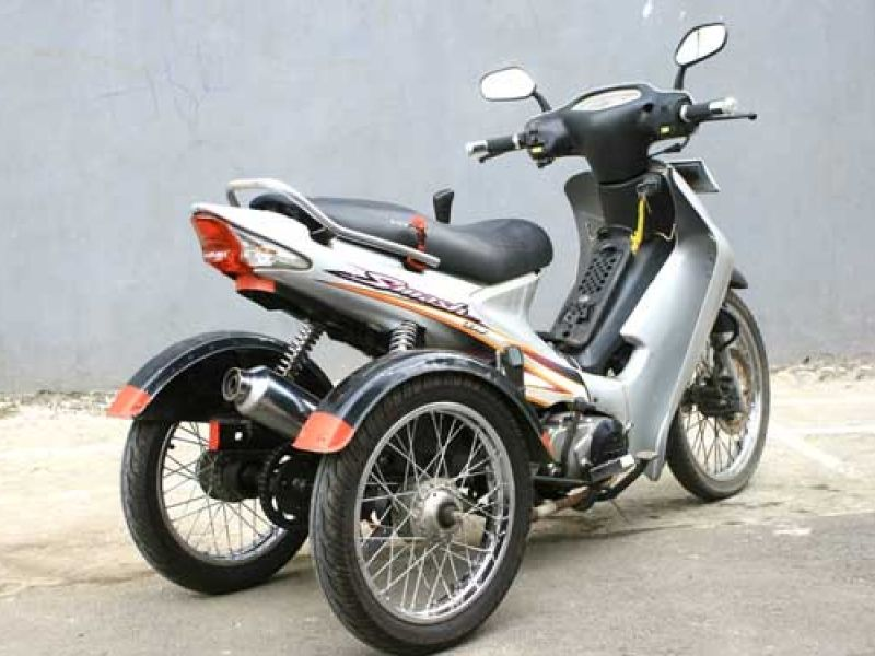 ide modifikasi motor roda 3