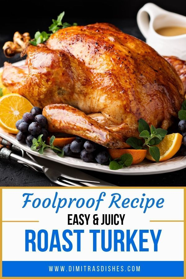 Photo of EASY ROAST TURKEY & GRAVY (FOOLPROOF RECIPE) – Dimitras Dishes