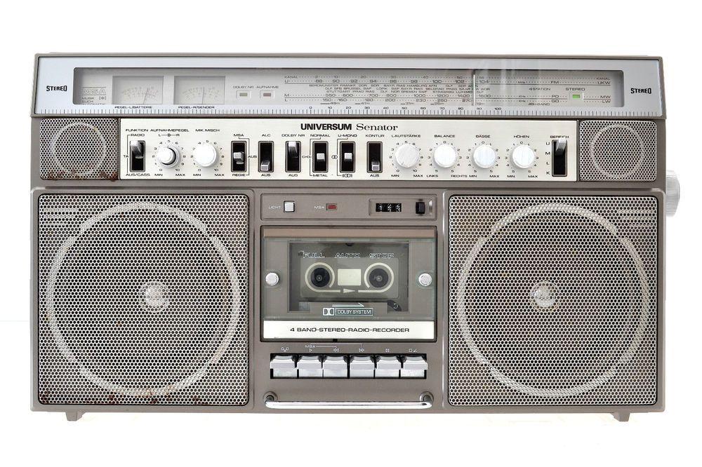 Universum Senator CTR-2312 M 4 Band Radio-Recorder Boombox Ghettoblaster