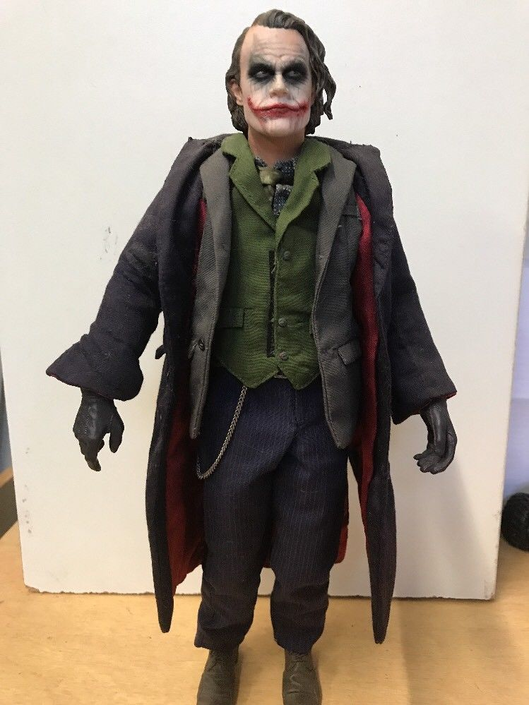 Hot Toys 1 6 Dc Batman The Dark Knight Dx01 The Joker Masterpiece