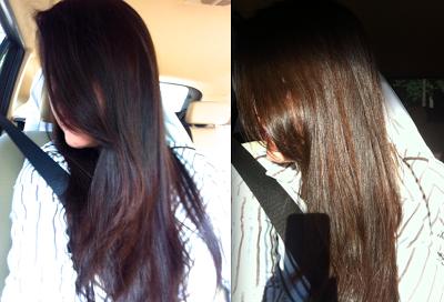 La vida rosa de linda: Recuperando o cabelo / Recuperando el cabello