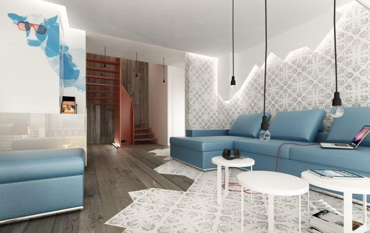 design beleuchtung im wohnzimmer | boodeco.findby.co