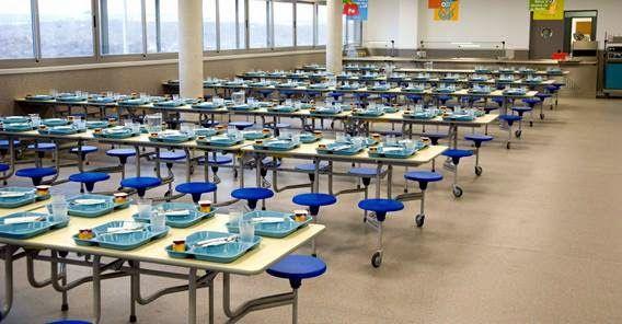 Mesas de comedor silenciosas desc brelas en www for Mesas comedor colegio