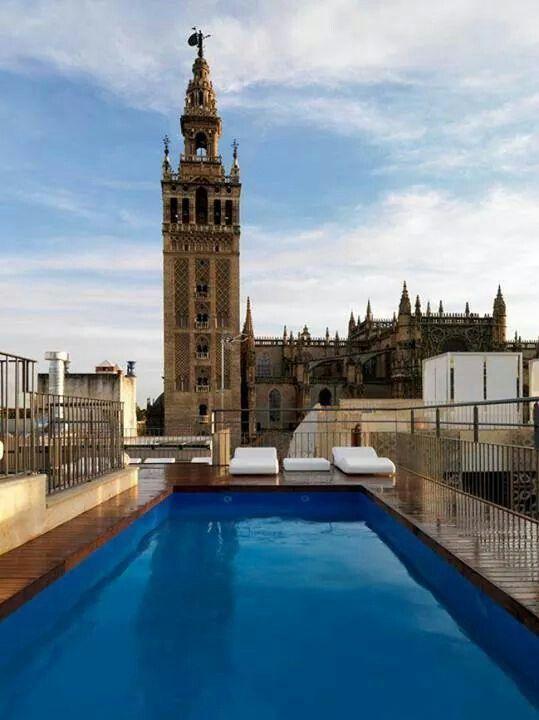 Desde La Terraza Del Hotel Eme Sevilla En 2019 Sevilla