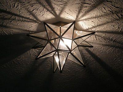 Outdoor Moravian Star Light Star ceiling light a few ideas for the house pinterest ceiling moravian star light pendant or ceiling mount indooroutdoor bronze glass workwithnaturefo