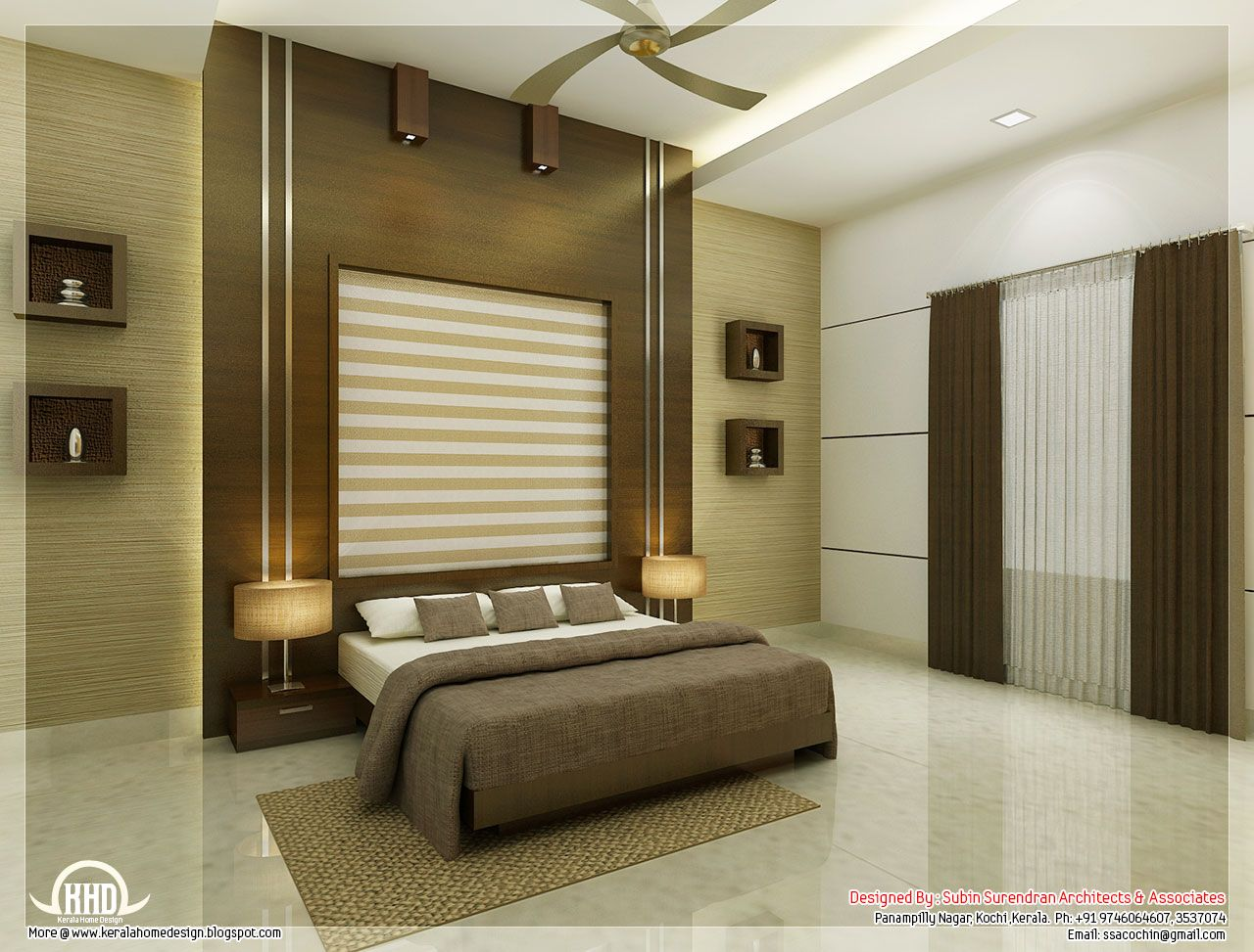 Beautiful Bedrooms Beautiful Bedroom Interior Designs By Subin Surendran Architects