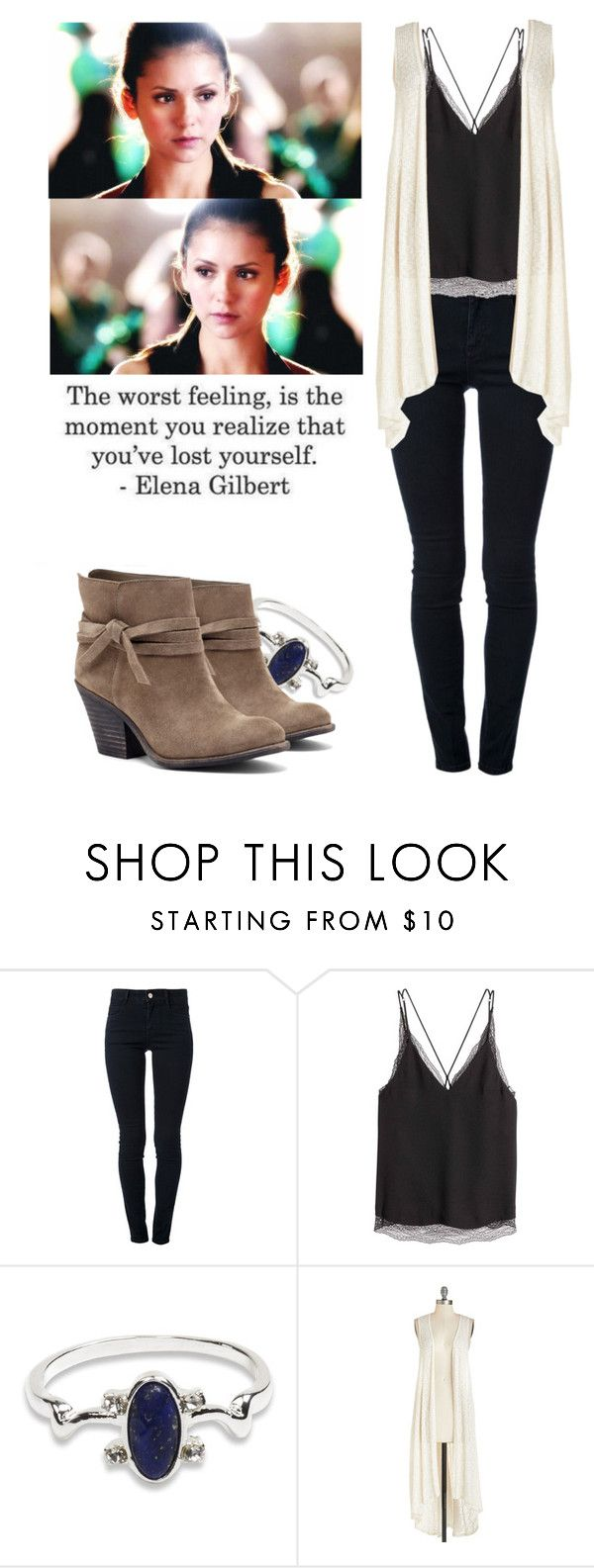 """""""Elena Gilbert - tvd / the vampire diaries"""" by shadyannon ❤ liked on Polyvore featuring STELLA McCARTNEY and Sole Society"""