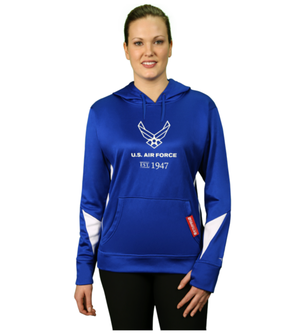 Air Force Women 39 Core Performance Printed Hoodie (With