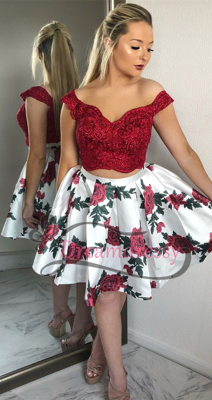 03815a5bb0f floral homecoming dress
