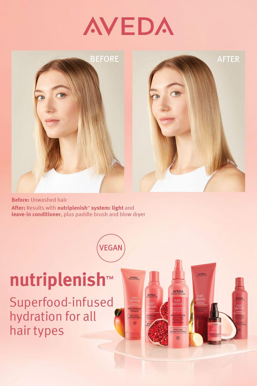 Nutriplenish Shampoo Conditioner In 2021 Hydrate Hair Moisturize Dry Hair Hair Care