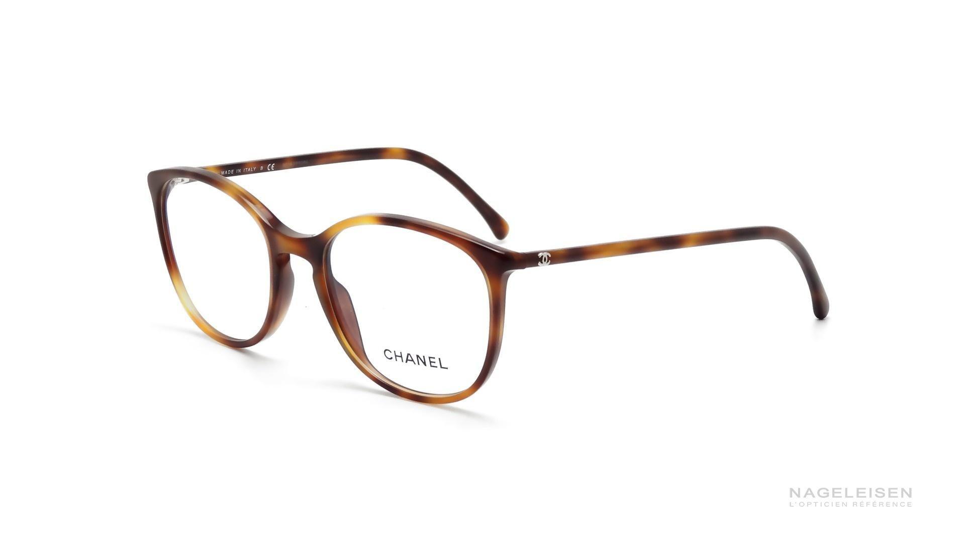Lunettes de vue Chanel CH 3282 C1295 Écaille Medium