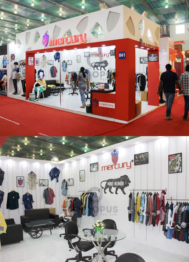Exhibition Stall Design Agency In Gujarat : Garment exhibition stall design and fabrication at ahmedabad