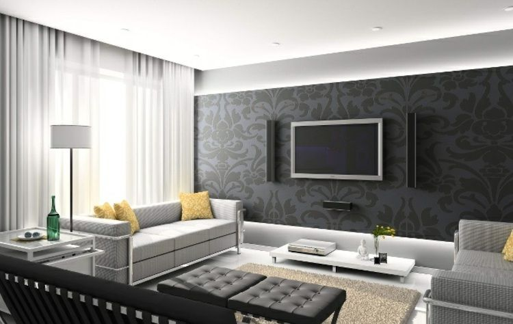 Décoration murale dans le salon en 25 idées super tendance ...
