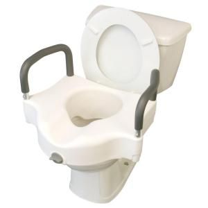 Medline Adjustable Elevated Toilet Seat Mds80316h Toilet Seat