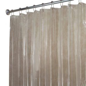 Extra Long Shower Curtain Liner 72 X 78