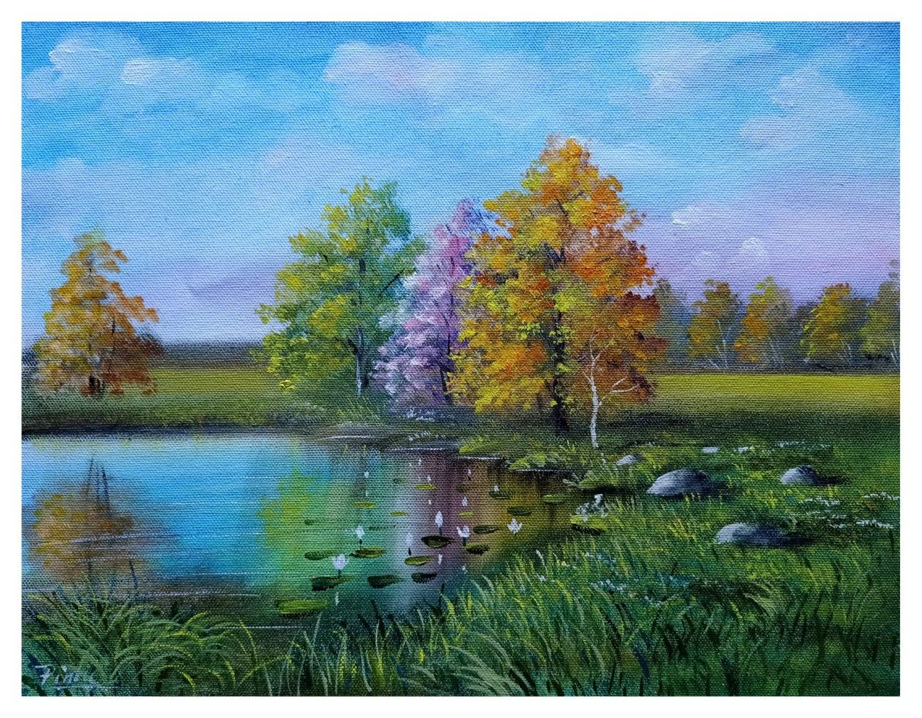 Pin On Landscape Painting