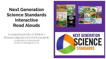Next Generation Science Standards Interactive Read Alouds. A list of books for grades K-5!