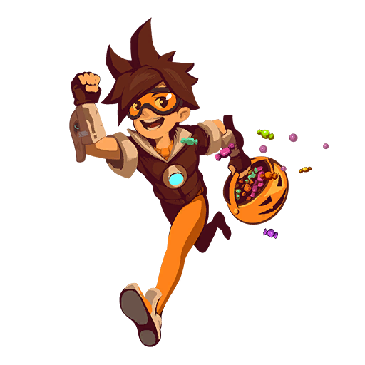 File Spray Tracer Trick Or Treat Png Overwatch Overwatch Memes Tracer
