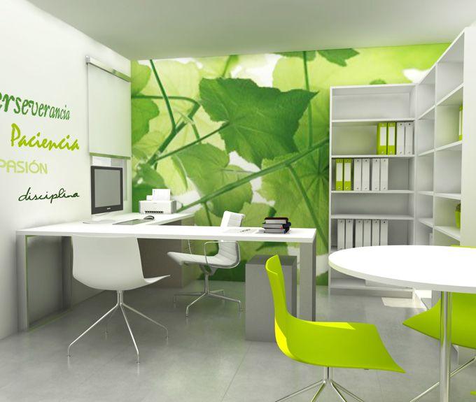 Proyecto de dise o de la oficina gaudium interiorismo y for Oficinas de diseno y arquitectura