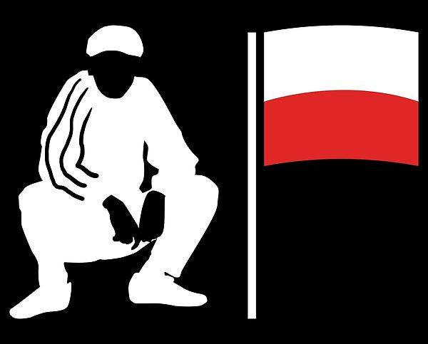 Cool Design With A Slav Squat For Polish People Slowianski Przykuc Dla Polakow Polska Gora Slav Squat Cool Designs Theme