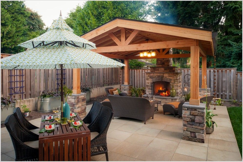 Backyard Covered Structures Google Search Backyard Covered
