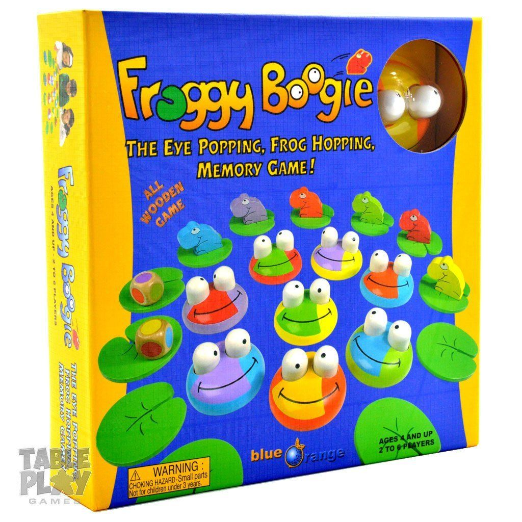 Froggy boogie toys games blue orange