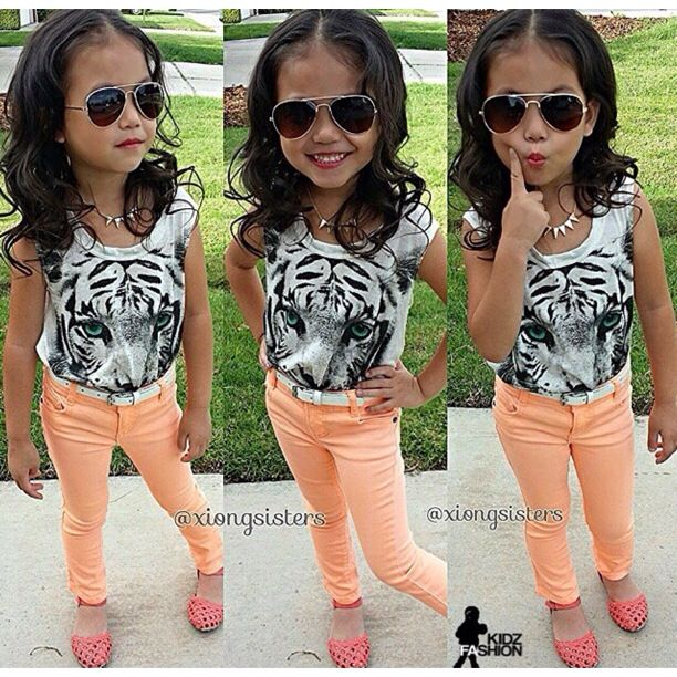 Little girl swag