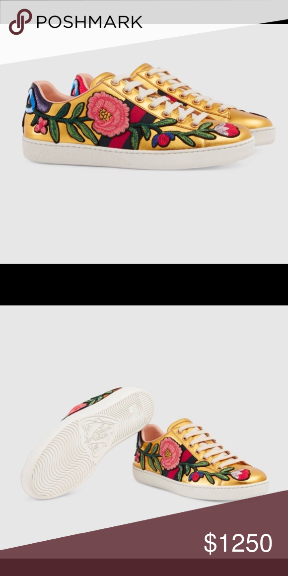 0448b7fe77d Spotted while shopping on Poshmark  Limited edition Gucci ace sneakers!   poshmark  fashion