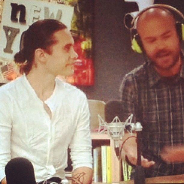 Jared Leto -Thx for having me, DJ Chiama Italia! (via http://instagram.com/p/Ya5Ee6zBeR/