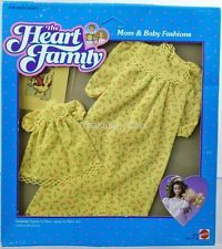 The Heart Family Mom & Baby Fashions Nightgown #9593 New NRFP 1984 Mattel, Inc.