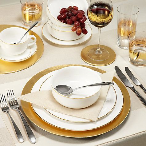 John Lewis Classic Christmas Table Linens & Accessories  Online at johnlewis.com