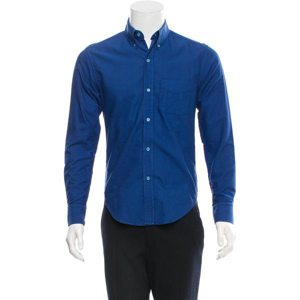 Pre-owned Band of Outsiders Long Sleeve Button-Up Shirt ($75 ...