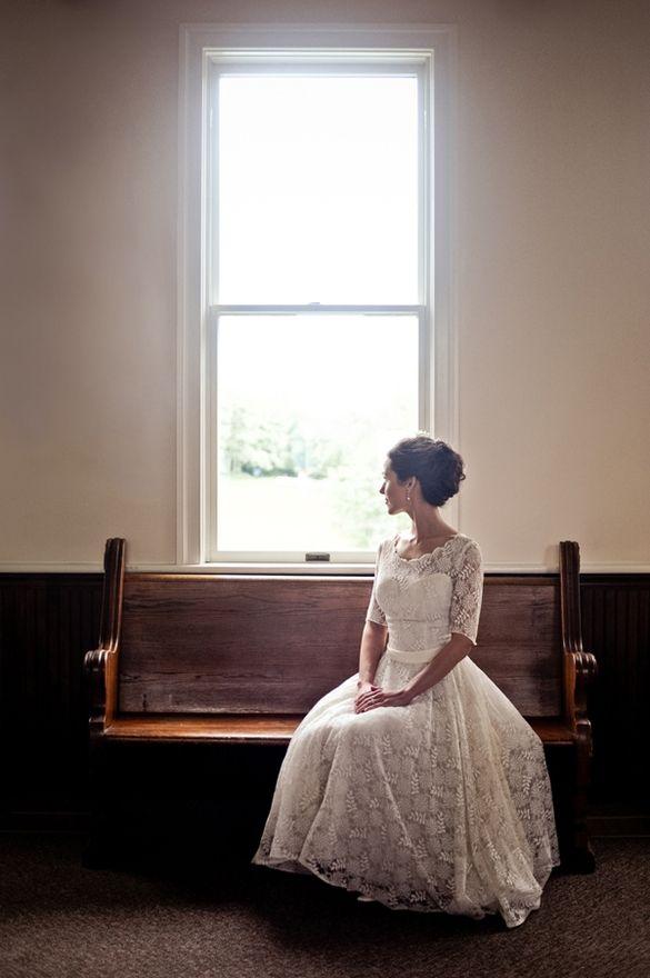 Vintage Wedding Dress..yepp inlove