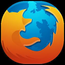 Mozilla Firefox Logo Ontwerp Krijt Tekeningen Logo S