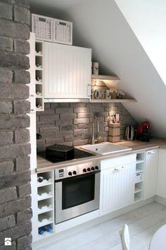 Bildergebnis für kleine küche dachschräge   Küche   Pinterest