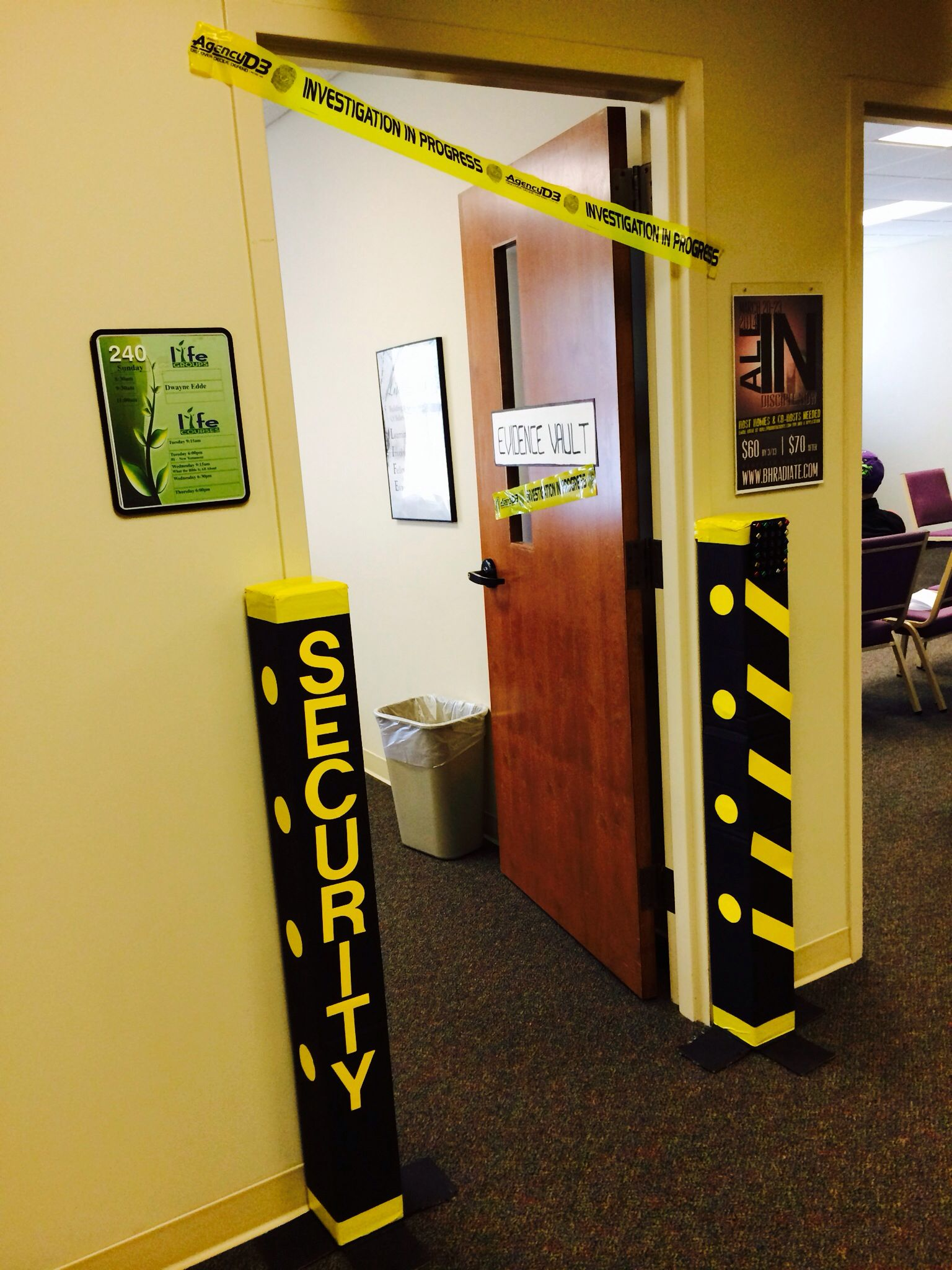 Security Entrance for PreK VBS 2014 Agency D3 Vbs