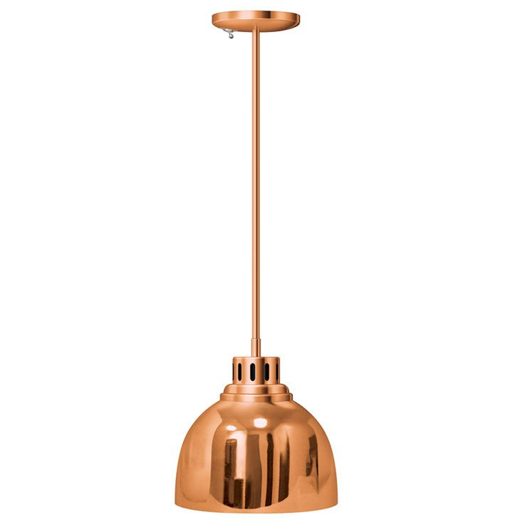 Decorative lamp dl 725 su in optional plated finish bright copper with