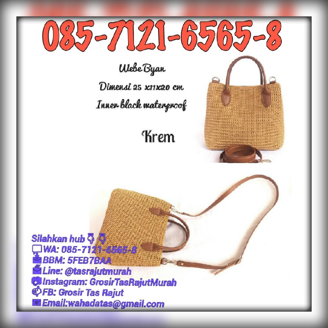 Jual Distributor Suplier Grosir Import Ekspor Tas Dompet Rajut Branded  Terbaru Wanita Cewek Perempuan Murah Online 72b6c0f579