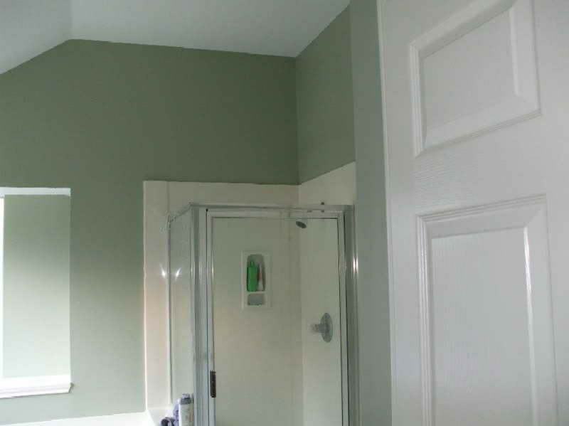 The Color Sage Sage Green Paint Feels Surprisingly With New Benjamin Moore Sage Green Bathroom Bathroom Colors Bathroom Remodel Images