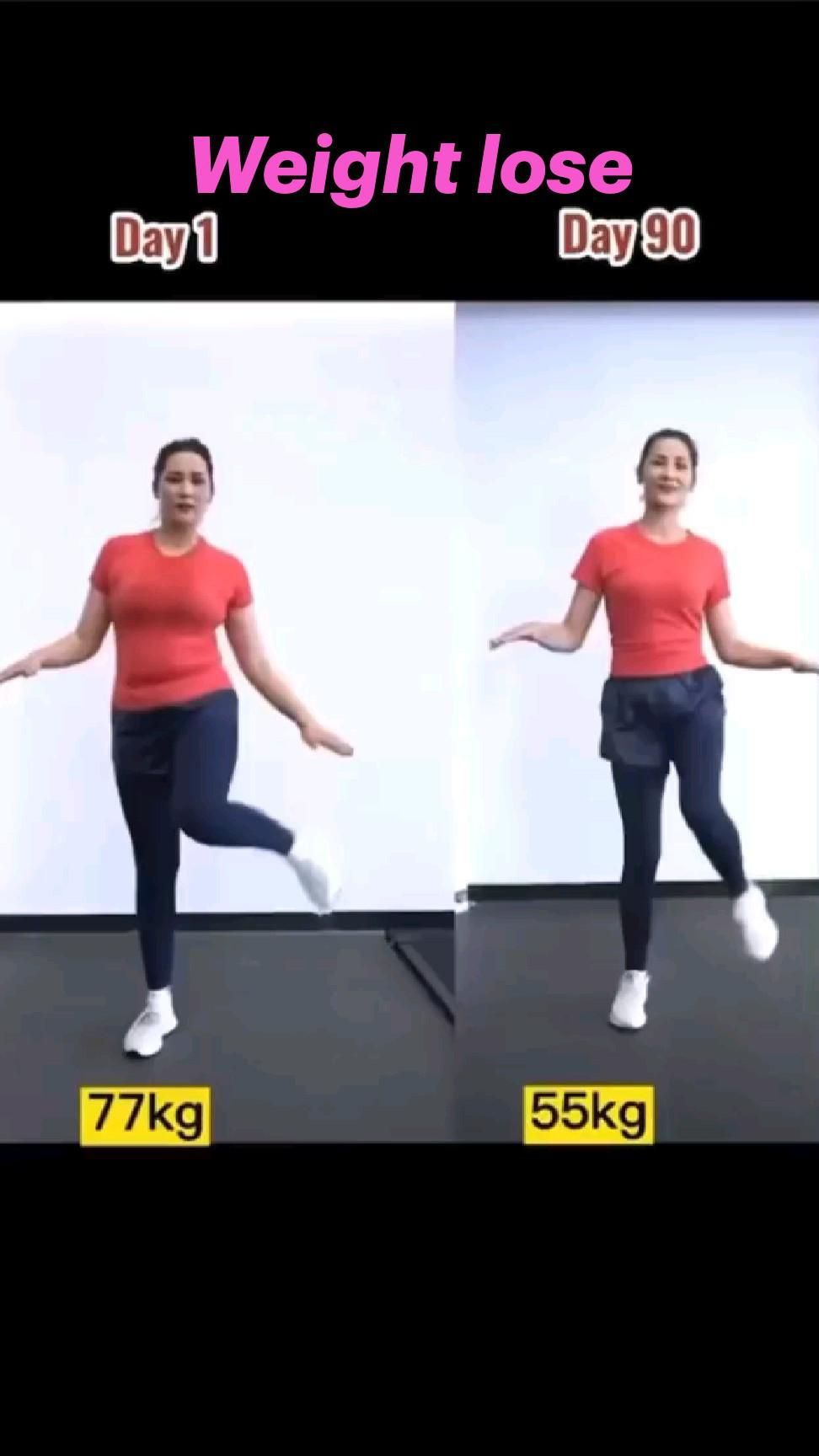 Weight lose workout for women fitness, and get flat belly & slim waist
