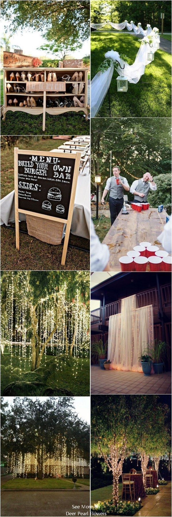 Wedding decorations outside house  Pin by Kine W Kvamsdal on Wedinspo  Pinterest  Wedding Wedding
