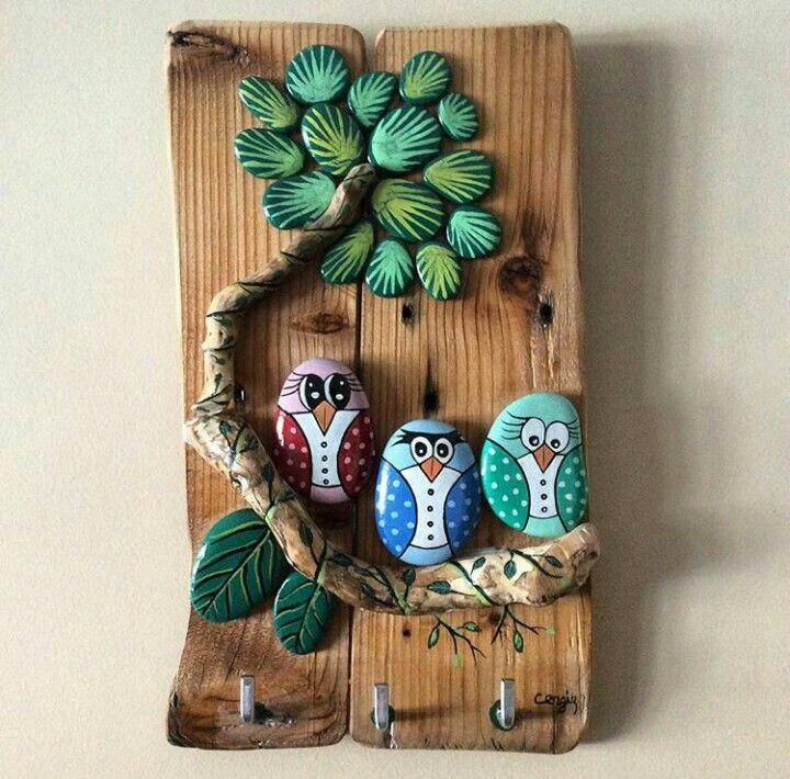 Pin de melike anlasmak en tas boyama ornekleri pinterest - Cuadros con piedras ...