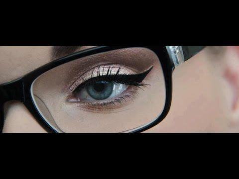 Smokey Eye Makeup For Glasses Wearers Eye Makeup Tutorial
